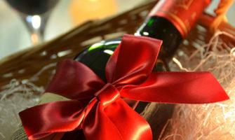 名入れ刻印ワインのプレゼント