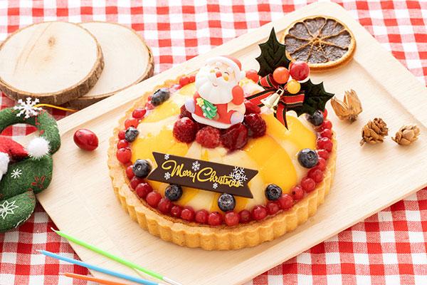 Cake.jpのクリスマスケーキ「フルーツタルト 18cm」