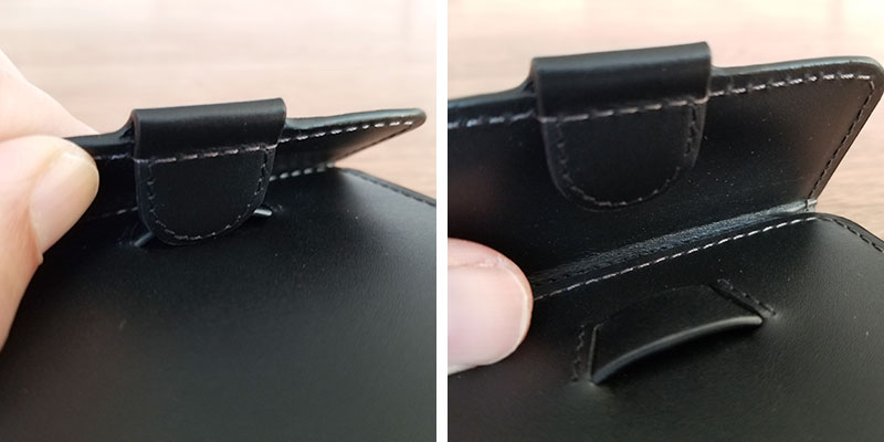 開け方 スリムでコンパクトな財布「ベルロイ コインフォルド ウォレット」