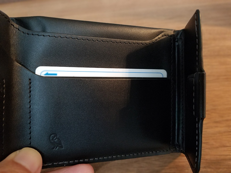 カードポケット3 スリムでコンパクトな財布「ベルロイ コインフォルド ウォレット」