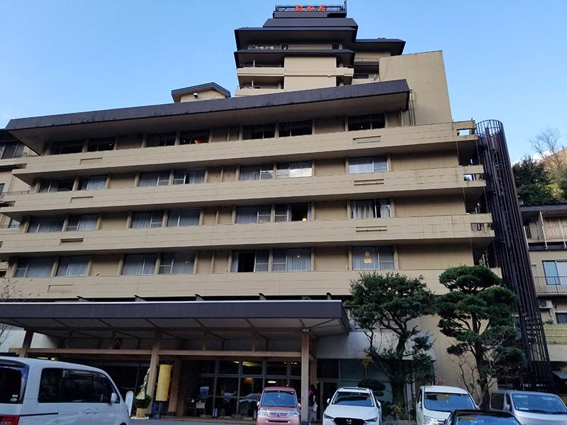 外観 箱根湯本「ホテルおかだ」露天風呂付き客室外観 「紅藤」に泊まってみた感想