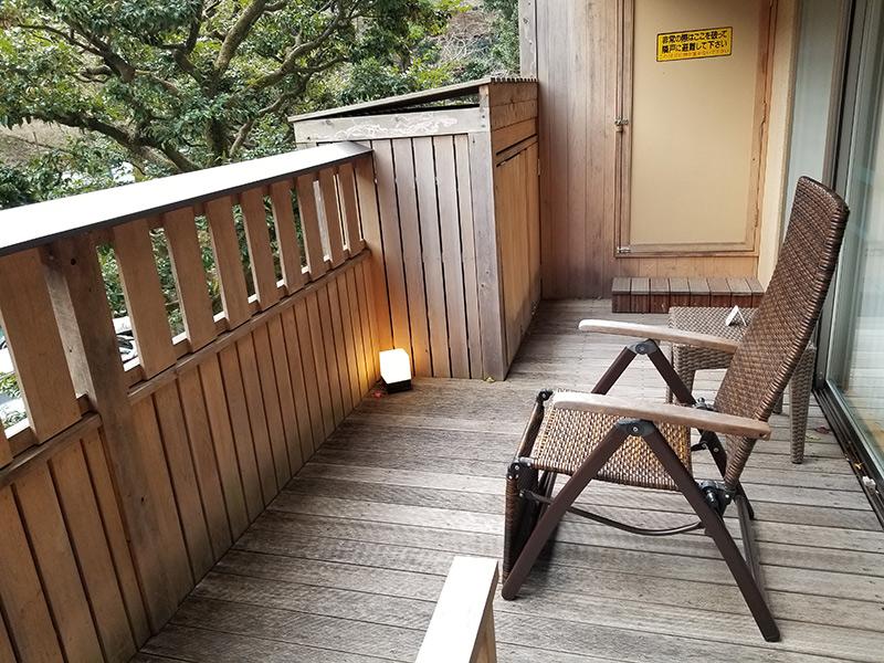 テラス 箱根湯本「ホテルおかだ」露天風呂付き客室「紅藤」に泊まってみた感想