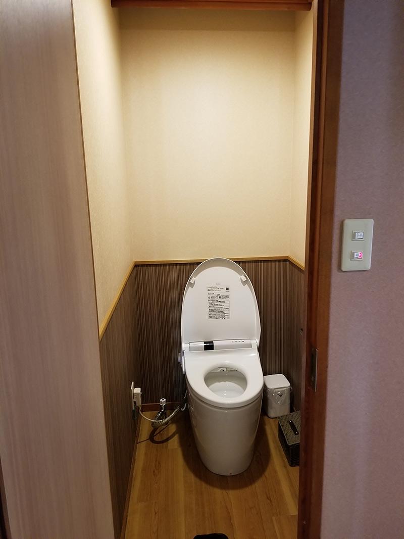 トイレ 箱根湯本「ホテルおかだ」露天風呂付き客室「紅藤」に泊まってみた感想