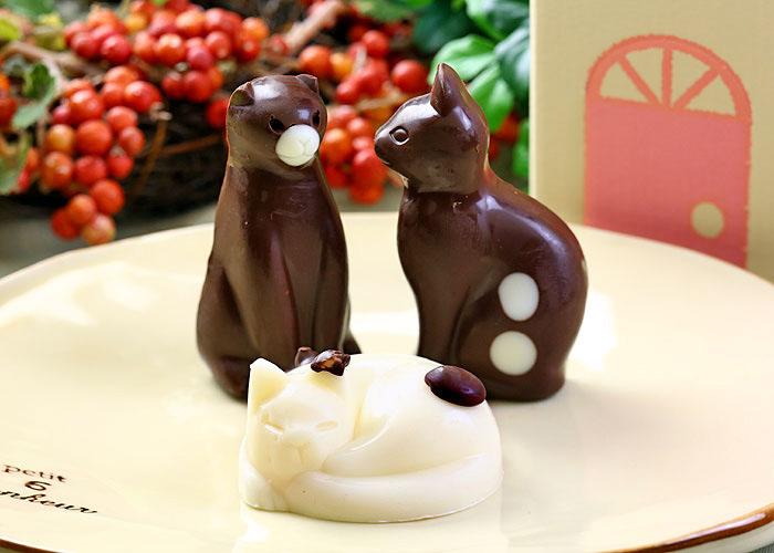 猫(ねこ)チョコレート