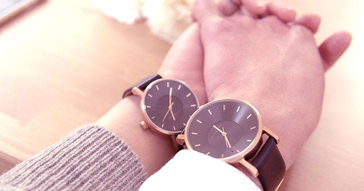 カップルのペアウォッチにおすすめな腕時計ブランド