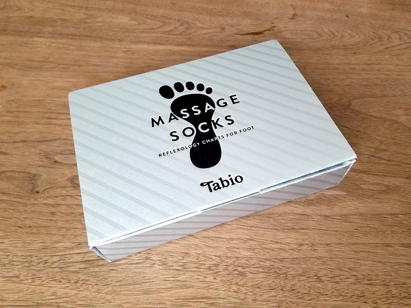 Tabio(タビオ)のツボ押しプリント5本指ソックス 商品レビュー