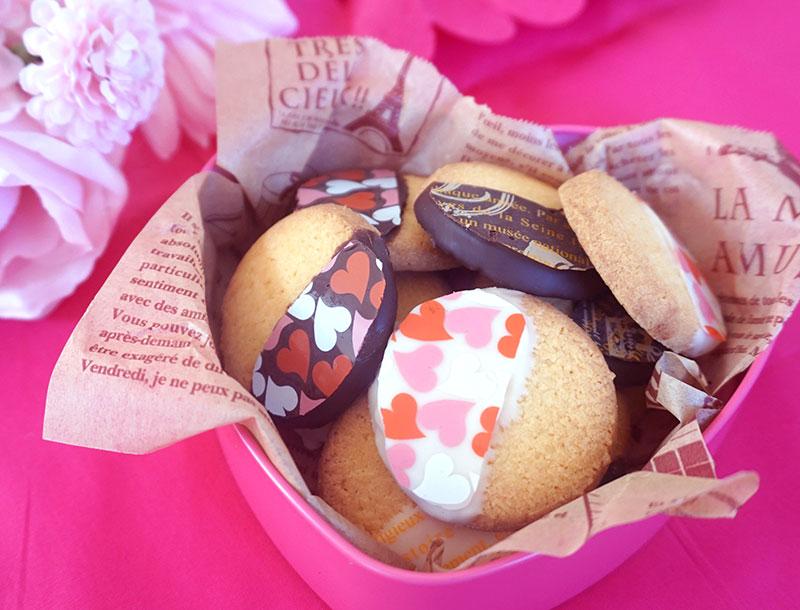 転写シートで簡単可愛い!チョコクッキー 完成イメージ