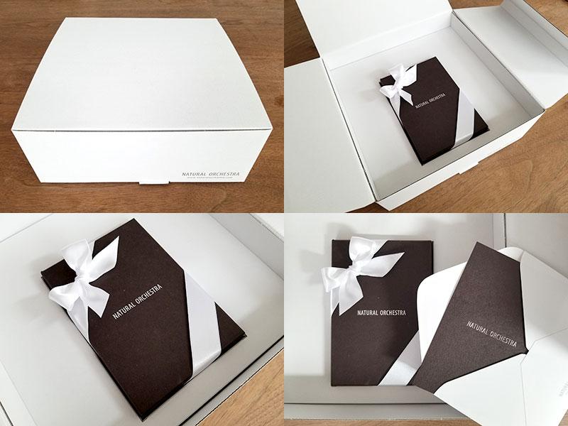 ナチュラルオーケストラ ギフトセット プレゼントにもぴったりの高級感ある箱