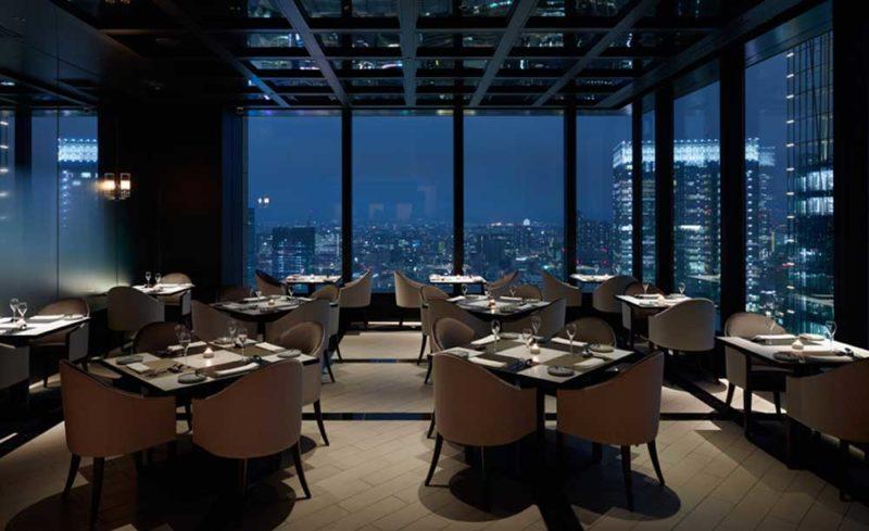 景色のいいレストラン