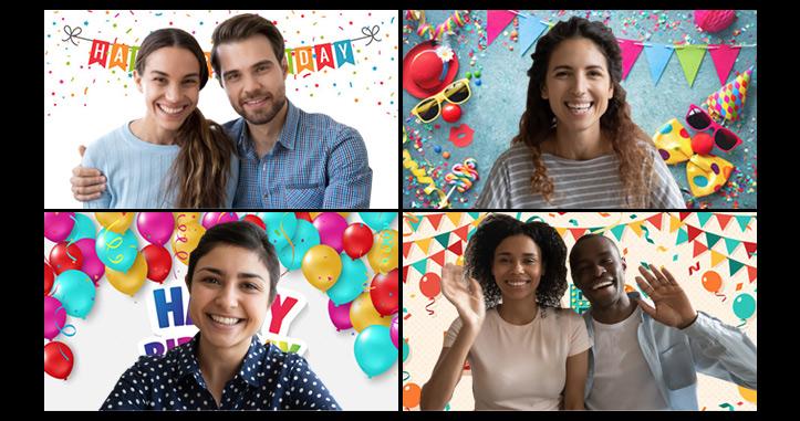 【Zoom誕生日会】ズームを使ってオンライン誕生日サプライズ・パーティーをする方法