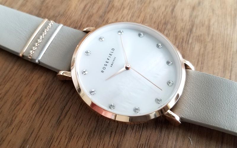 ROSEFIELD ローズフィールド腕時計-West Village with Stones 商品レビュー、クチコミ、感想