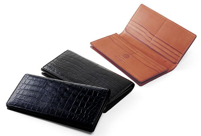 GANZO(ガンゾ)スモールクロコ 長財布