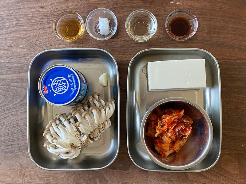『サバのキムチ煮』の材料