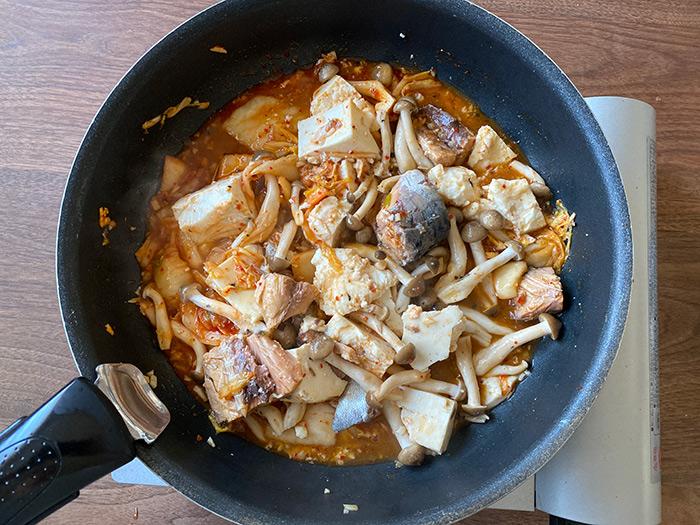 『サバのキムチ煮』の作り方