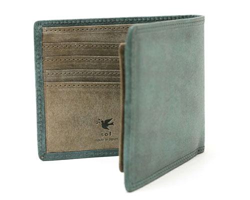 sot(ソット)≪オンラインストア限定≫プエブロレザー 二つ折り財布