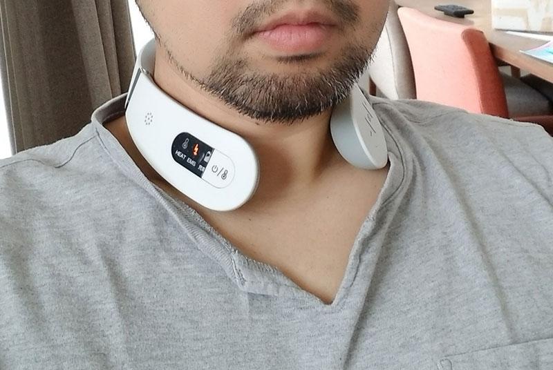 マイトレックス EMS ヒートネック コードレスEMS温熱器 レビュー・口コミ