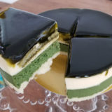 京都ヴェネト「京都宇治抹茶生チーズケーキ ジェミニ」を食べた感想