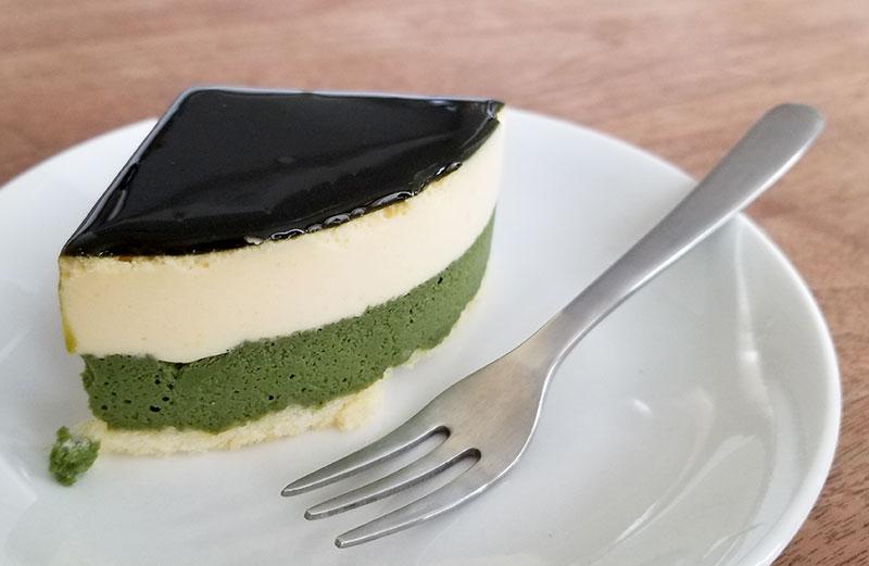 「京都宇治抹茶生チーズケーキ ジェミニ」のレビュー(食べた感想)
