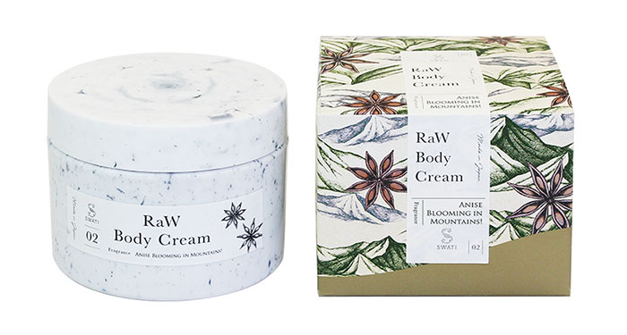 SWATi MARBLE Label 「RaW Body Cream」