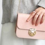 エーテルの上品なミニバッグ〜ヘアカーフ「アリュール」チェーンバッグ
