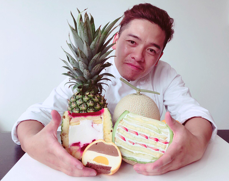 メロンケーキ職人・パティシエ加藤氏