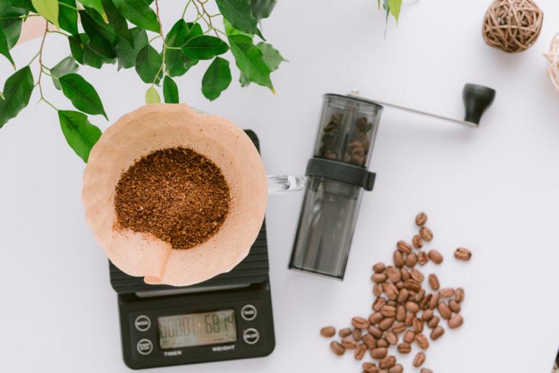 コーヒの粉