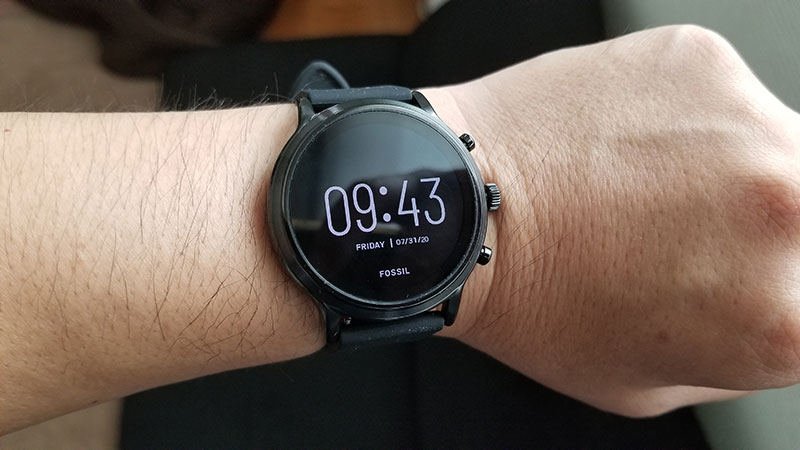 FOSSIL スマートウォッチ THE CARLYLE HR 感想 レビュー