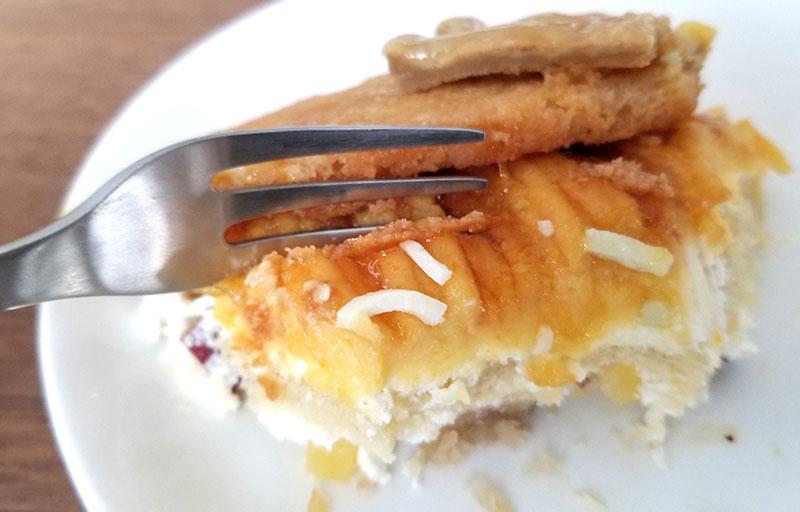 スイパラのそっくりケーキ「ギョーザ・中華そばのケーキセット」レビュー 食べた感想