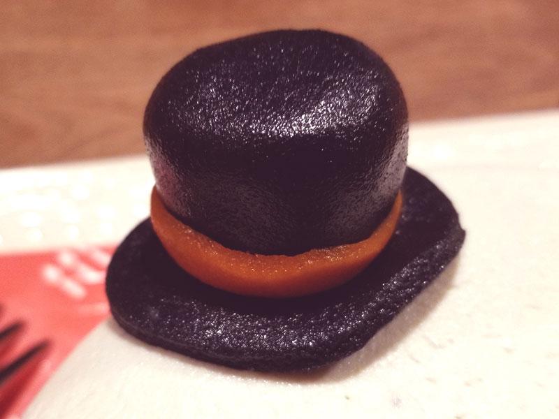 マジパンの帽子 ハロウィン 骸骨チーズケーキ レビュー 食べた感想