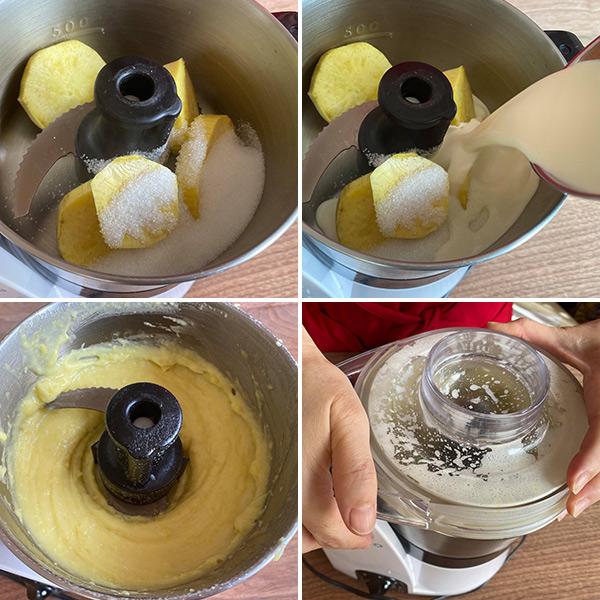 「さつまいもの和風モンブラン」のレシピ・作り方