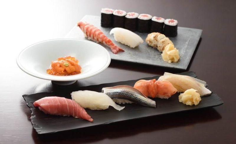 鮨 玉かがり 天ぷら 玉衣