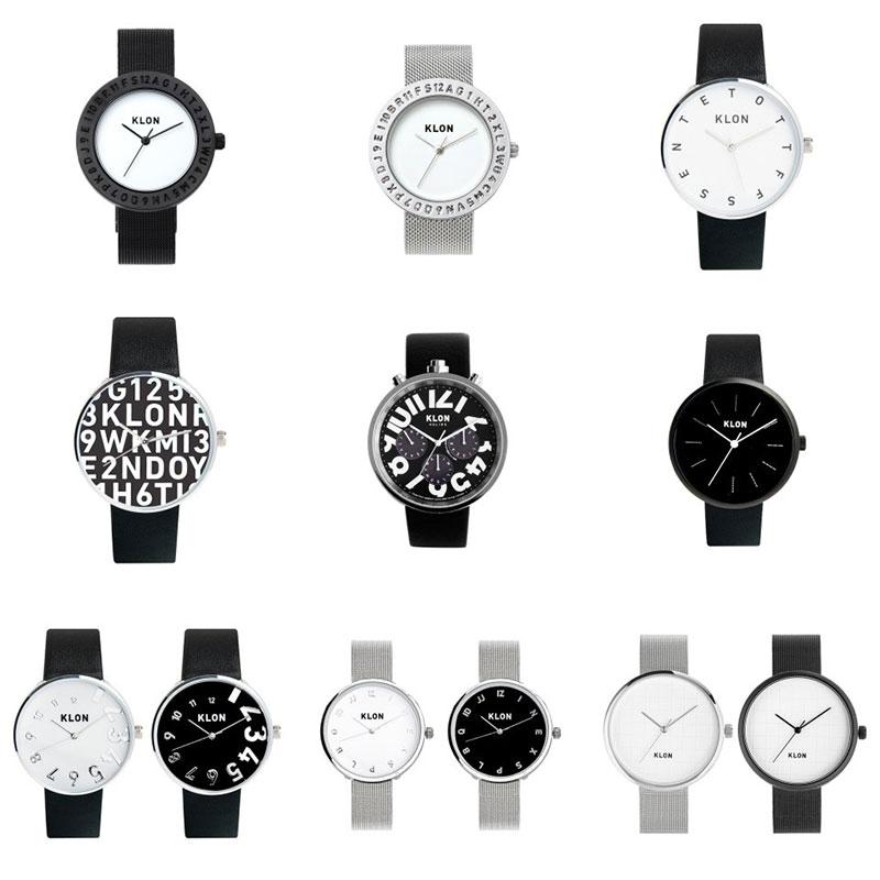 シンプルだけど個性的で存在感のある「KLON(クローン)」の腕時計