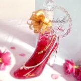 プレゼントに人気!シンデレラのガラスの靴のハーバリウムをレビュー