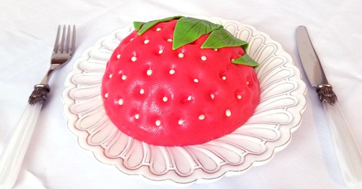いちごの立体ケーキ レビュー 感想