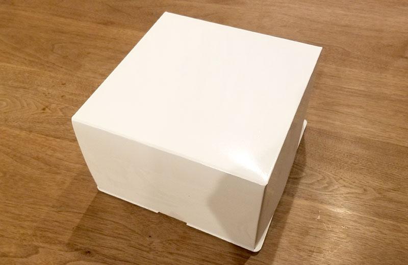 箱 いちごの立体ケーキ レビュー 感想