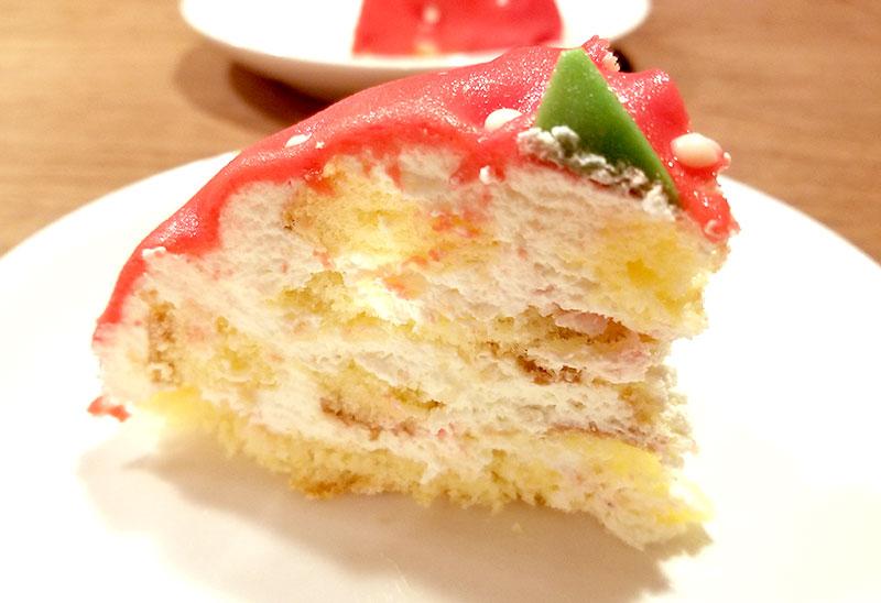ケーキ断面 いちごの立体ケーキ レビュー 感想