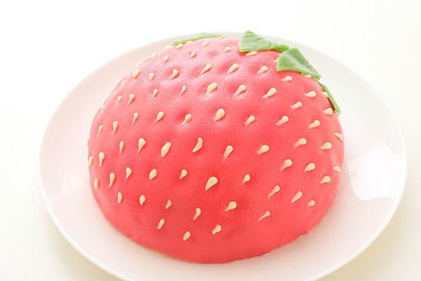 立体苺ケーキ  5号 15cm