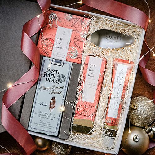 SWATi クリスマスギフト スペシャル保湿ケア5点セット(Vanilla)