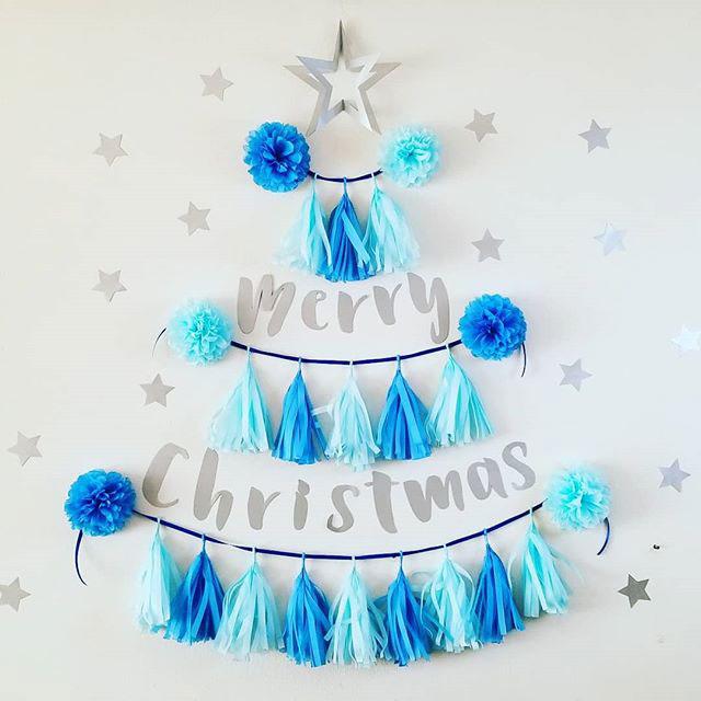 タッセルガーランドで作る!クリスマスツリーの作り方&飾り方テクニック!