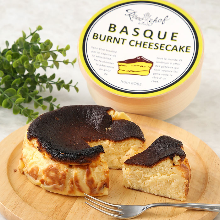 Reve de Chef(レーブ ドゥ シェフ)バスクチーズケーキ