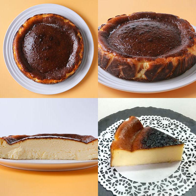 お焦げが美味しい〜米粉のバスクチーズケーキ