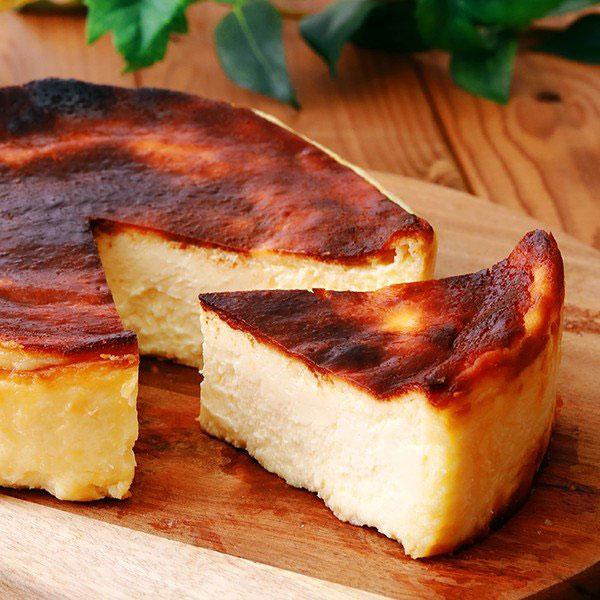 濃厚バスクチーズケーキ 急速冷凍(5号) パティスリー モンテローザ