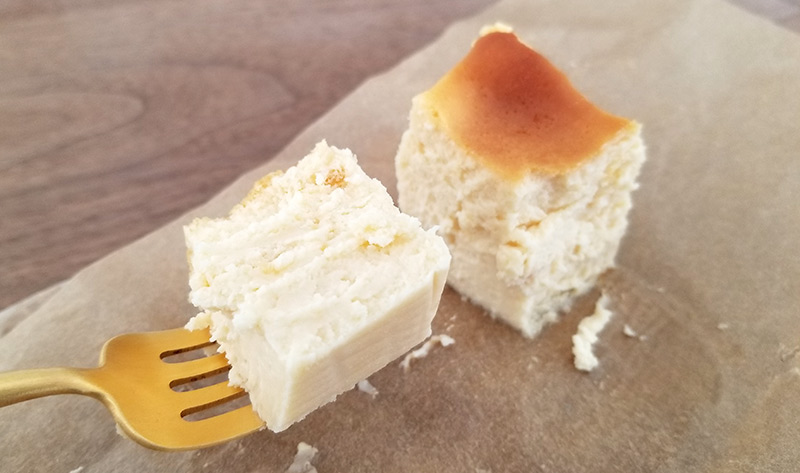 Cheesecake HOLIC クリームチーズケーキ 食べた感想 レビュー