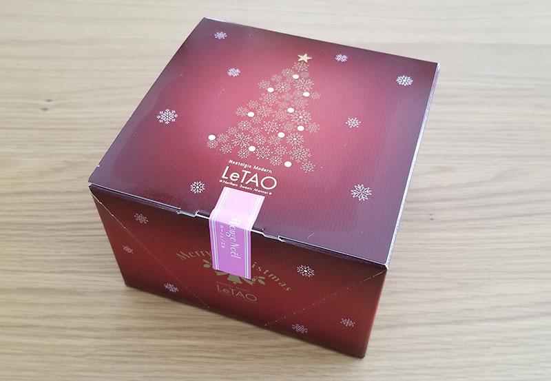 ルタオの2020クリスマスケーキセット「マニフィックマリアージュ」を食べた感想