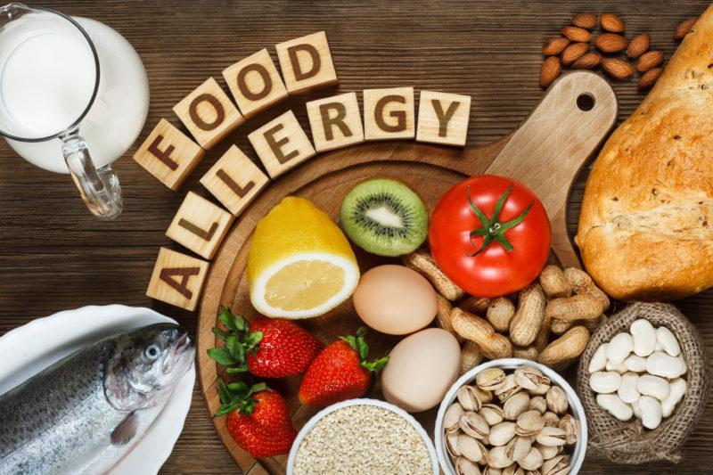 食べ物アレルギー