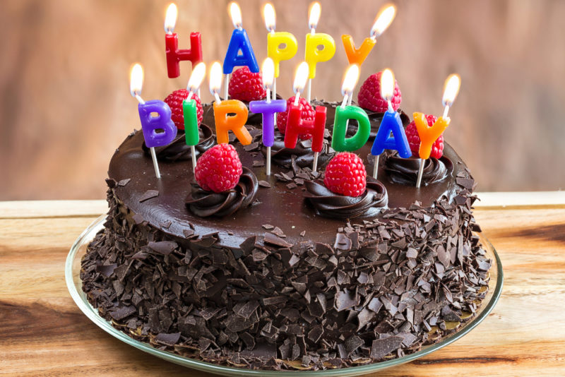 誕生日や記念日