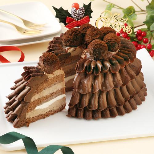 高島屋の人気クリスマスケーキ 通販 Les Sens(レ・サンス) ノエルド・ショコラ