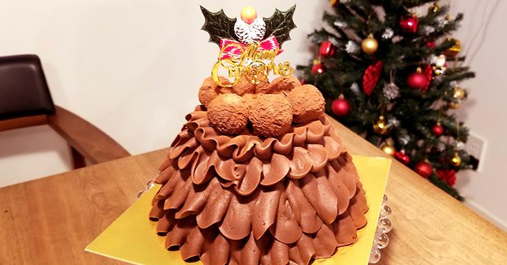 高島屋の通販クリスマスケーキで人気の「Les Sens ノエルド・ショコラ」をレビュー!