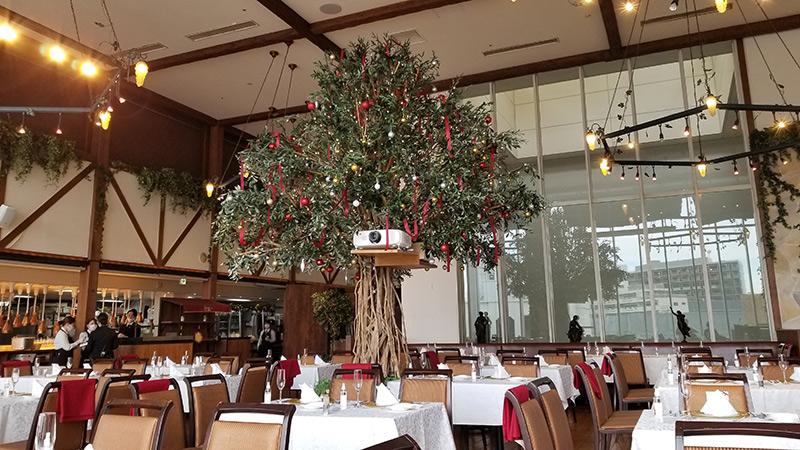 ベニーレベニーレのクリスマスランチ レビュー 店内