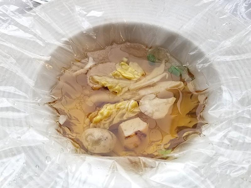 ベニーレベニーレのクリスマスランチ レビュー 温前菜(スープ)